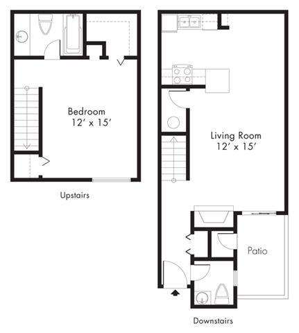 Floor Plan at Hawthorne House, Texas