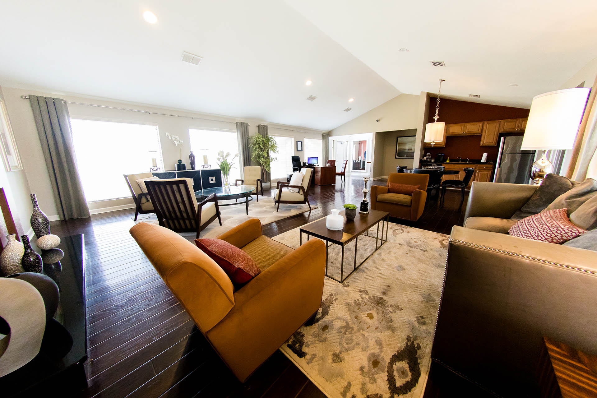 Clubhouse with Upgraded Interiors at Hawthorne House, Texas