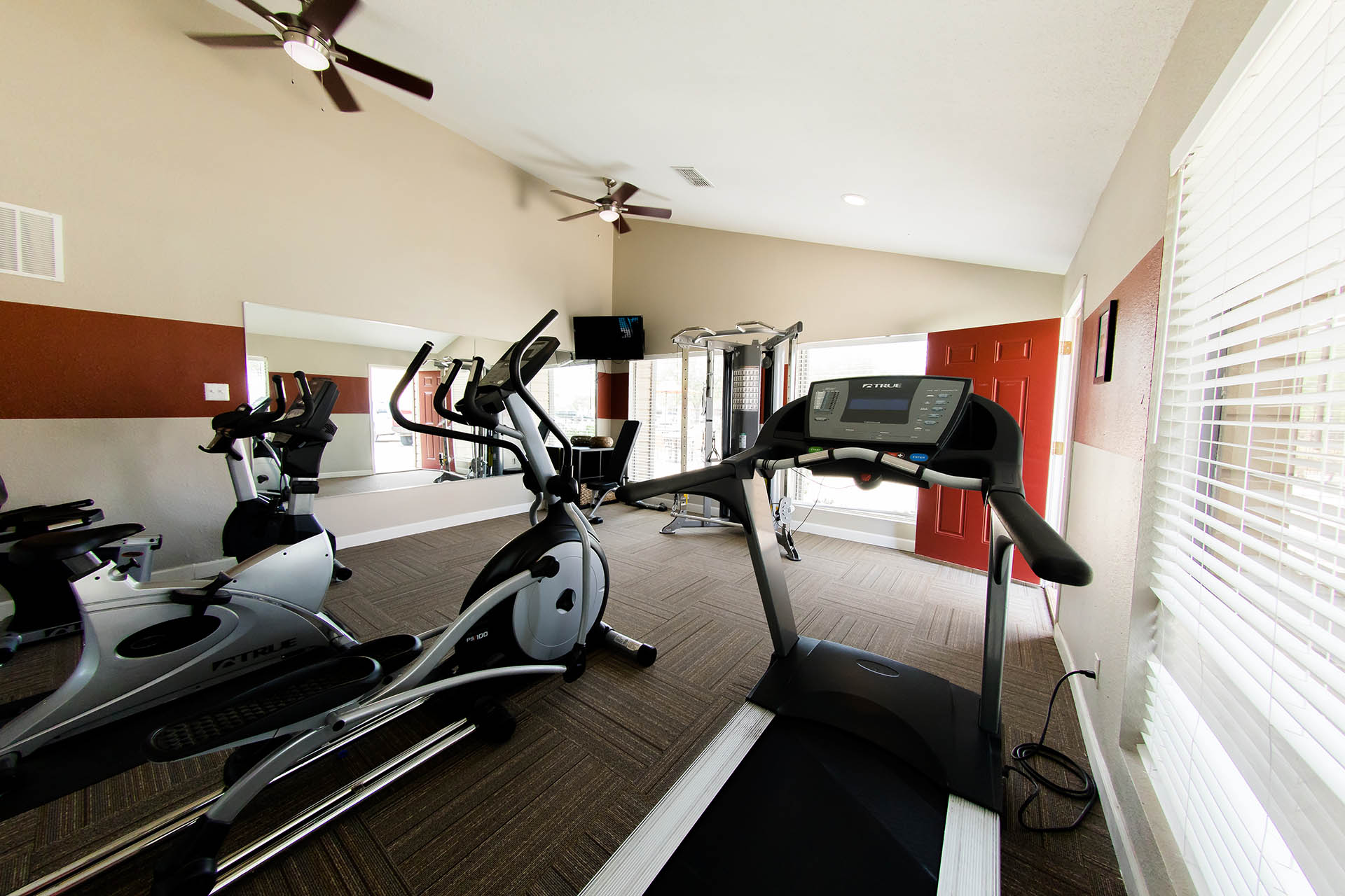 High-Tech Fitness Center at Hawthorne House, Texas, 79705