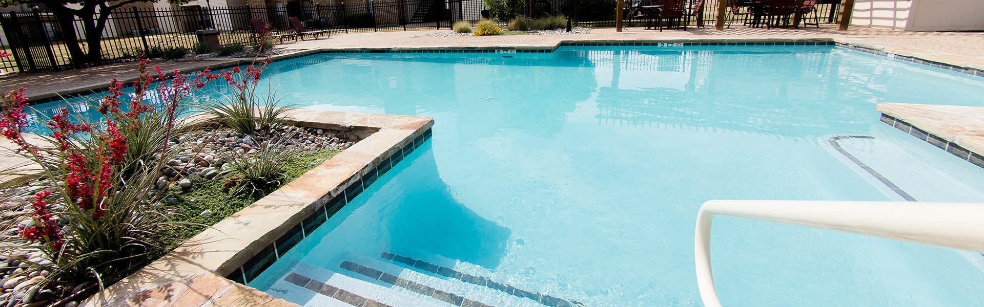 Outside Swimming Pool at Park at Caldera, Midland, TX