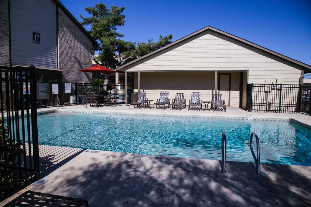 Pool Side Relaxing Area at University Gardens, Odessa, TX, 79761