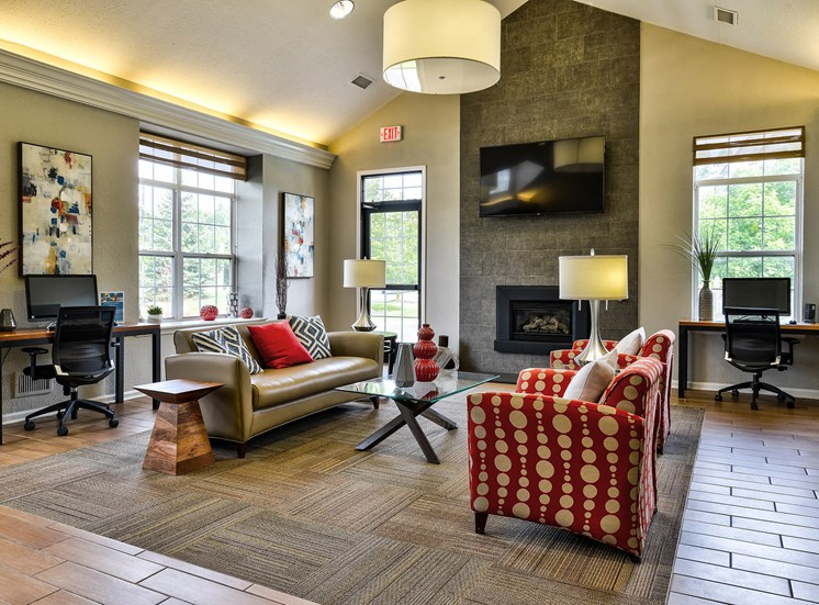 Beautifully Remodeled Clubhouse at Orion MainStreet, Michigan, 48103