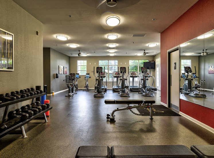 Fitness Center Access at Orion MainStreet, Ann Arbor, Michigan