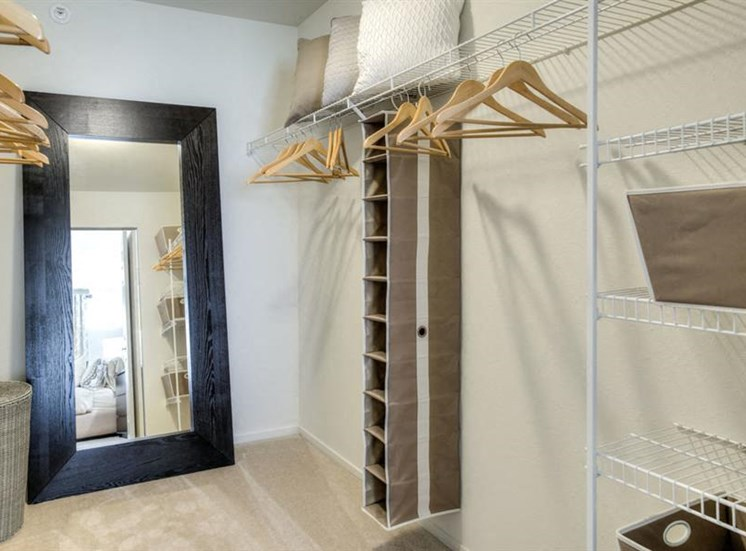 Roomy Walk-In and Reach-In Closets at Orion Main Street, Ann Arbor, MI, 48103