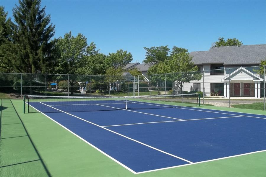 Outdoor Tennis Court at Orion North Star, Ann Arbor, MI