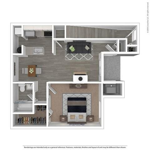 Floor Plan at Orion North Star, Ann Arbor, Michigan