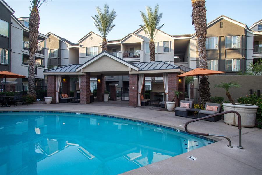 Resort Inspired Pool and Spa at Citi on Camelback, Phoenix