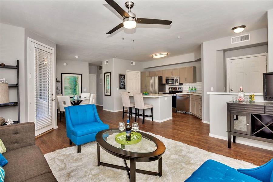 Open Floor Plan at Citi on Camelback, Phoenix, AZ, 85014