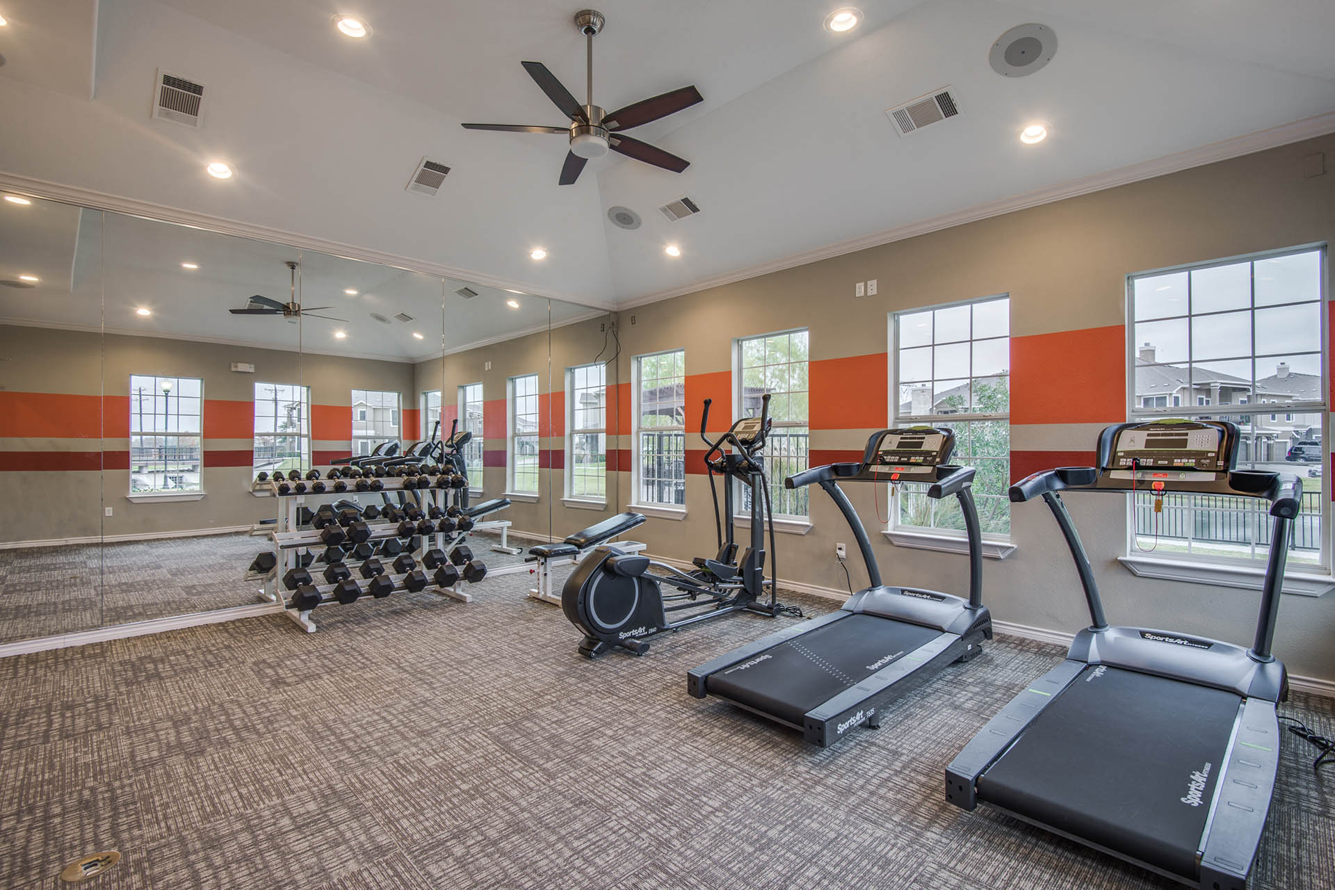Fitness Center with Updated Equipment at Orion Prosper, Prosper, 75078