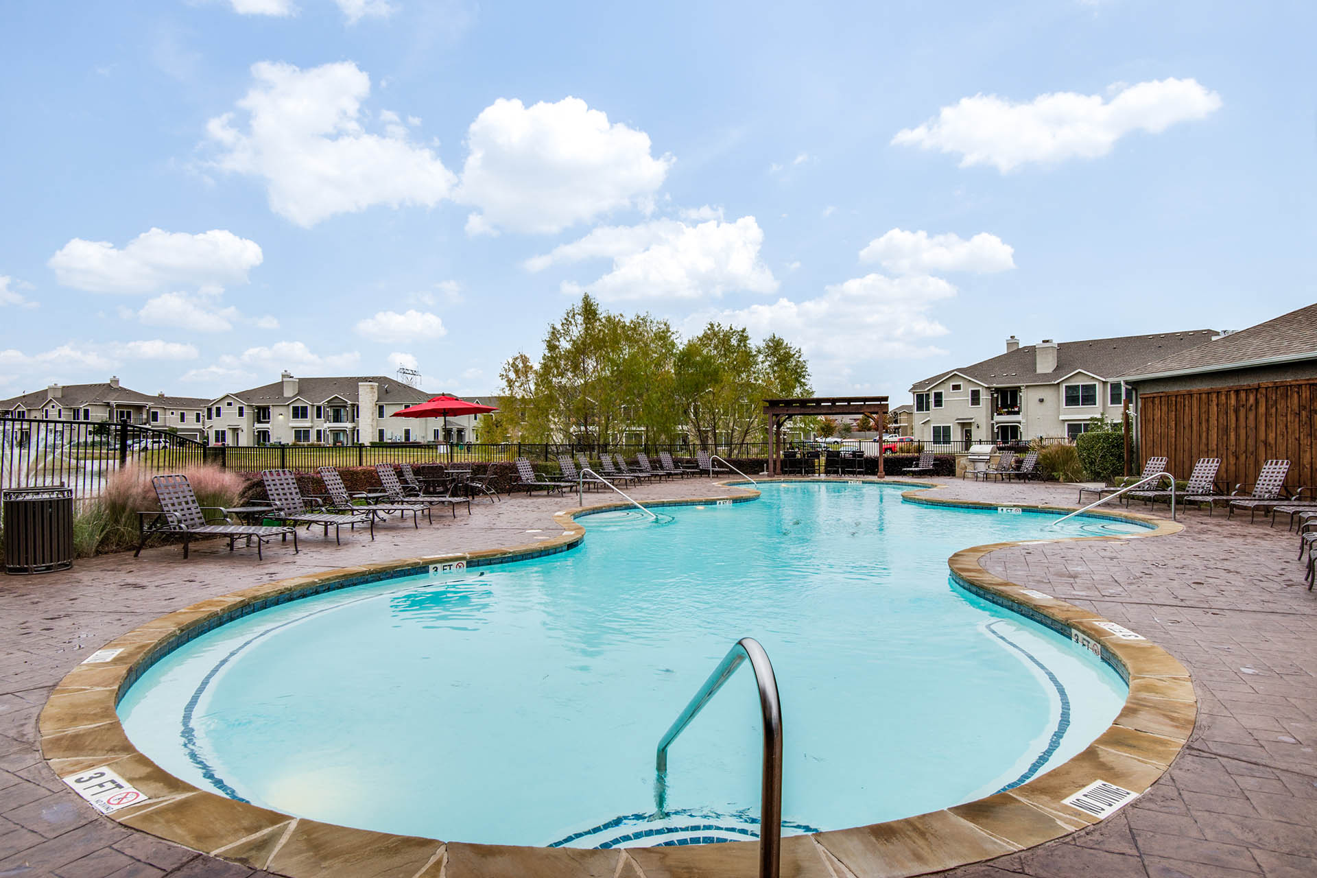 Resort-Style Swimming Pool with Deck at Orion Prosper, Prosper, Texas