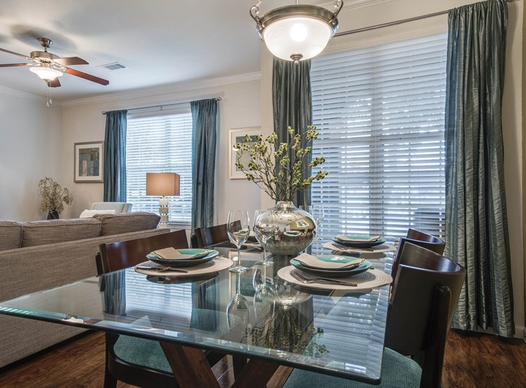 Separate Spaces for Dining at Orion Prosper, Texas, 75078
