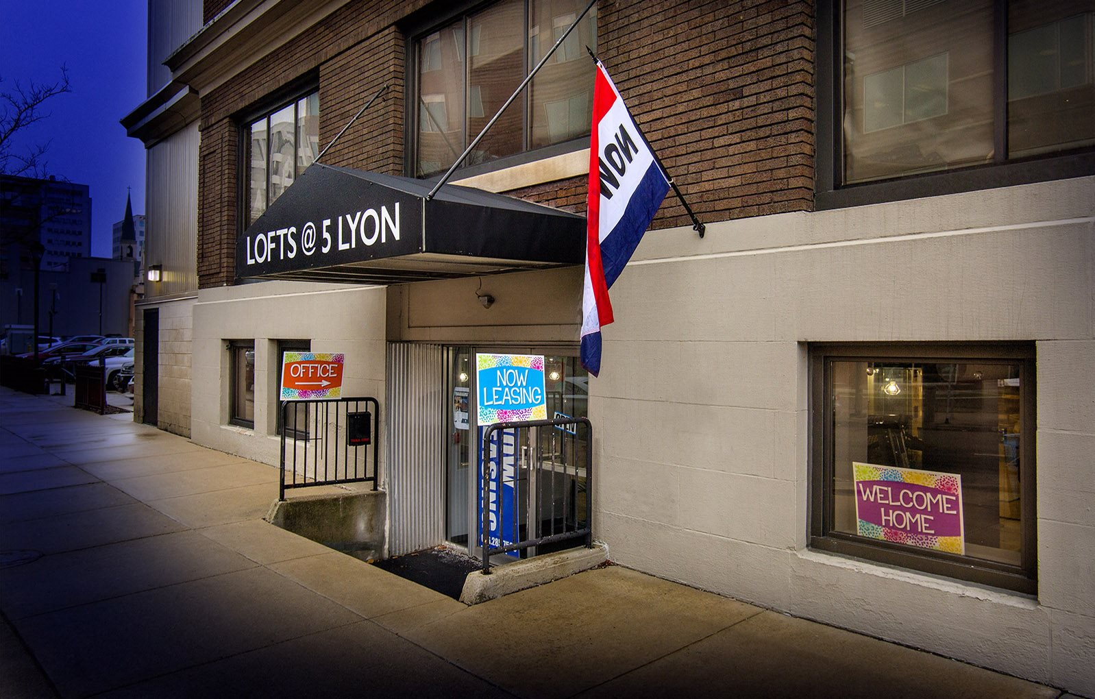 Lofts at 5 Lyon Entrance Grand Rapids