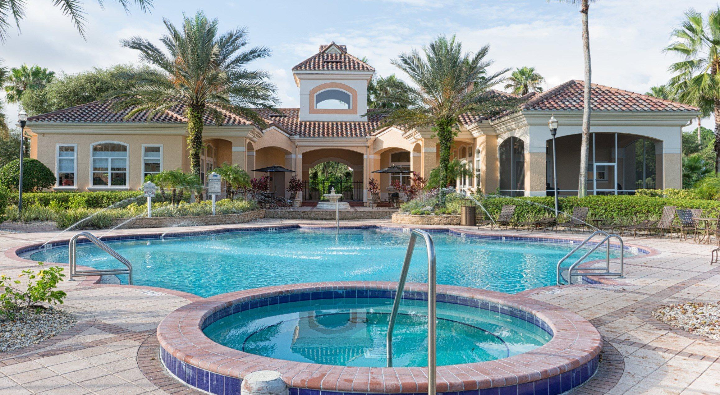 Year-Round Hot Tub at Tuscany Bay Apartments, Tampa, 33626