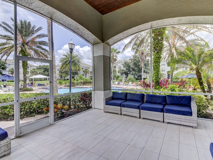 Waiting Room Area at Tuscany Bay Apartments, Florida