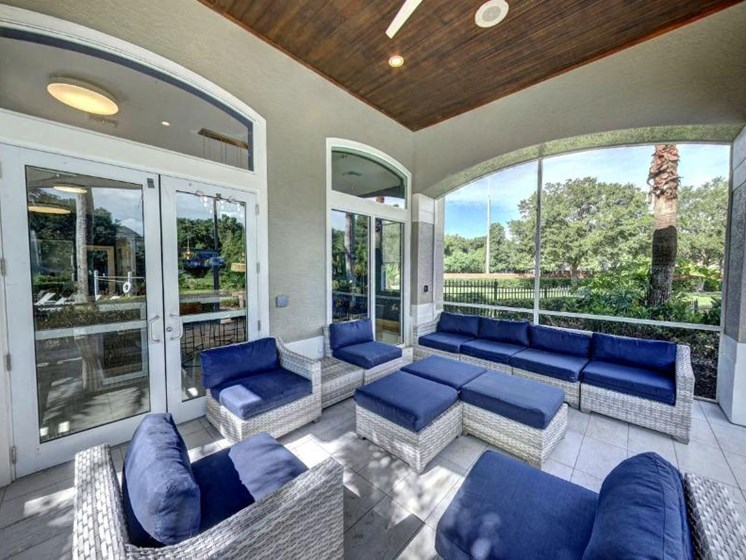 Sitting  Space In Clubhouse at Tuscany Bay Apartments, Tampa, Florida