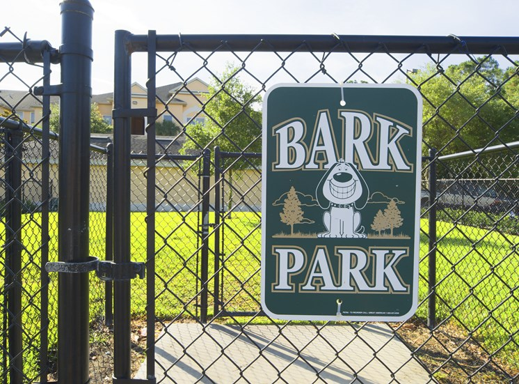 Bark Park at Tuscany Bay Apartments, Florida, 33626
