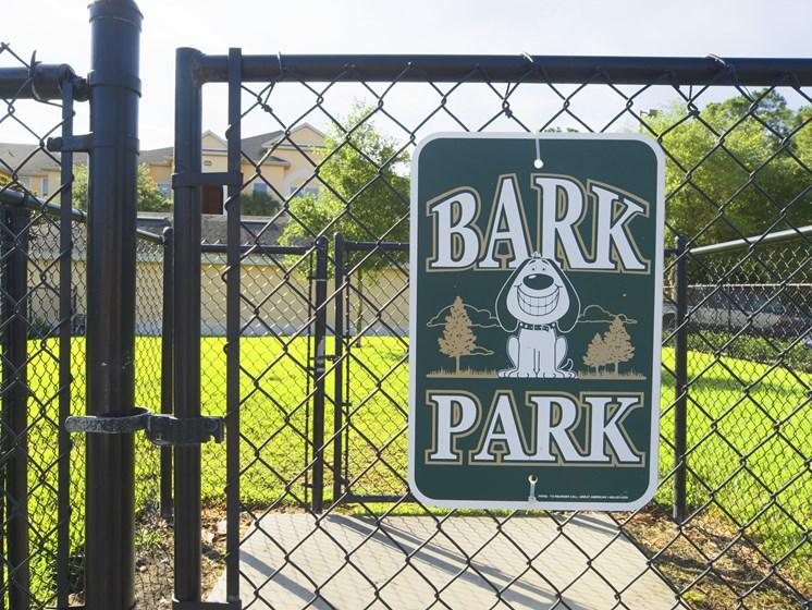 Bark Park at Tuscany Bay Apartments, Florida, 33626