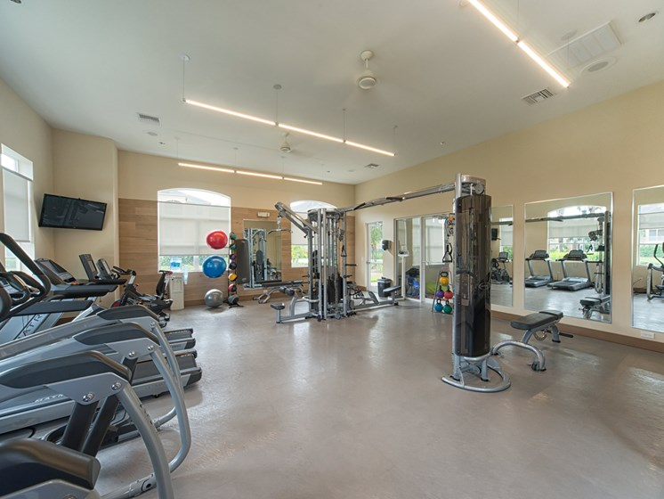 24 hour Fitness Center at Tuscany Bay Apartments, Tampa, 33626