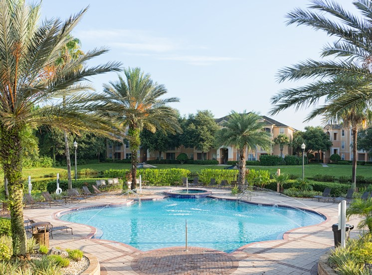 Resort-Style Pool at Tuscany Bay Apartments, Tampa, 33626