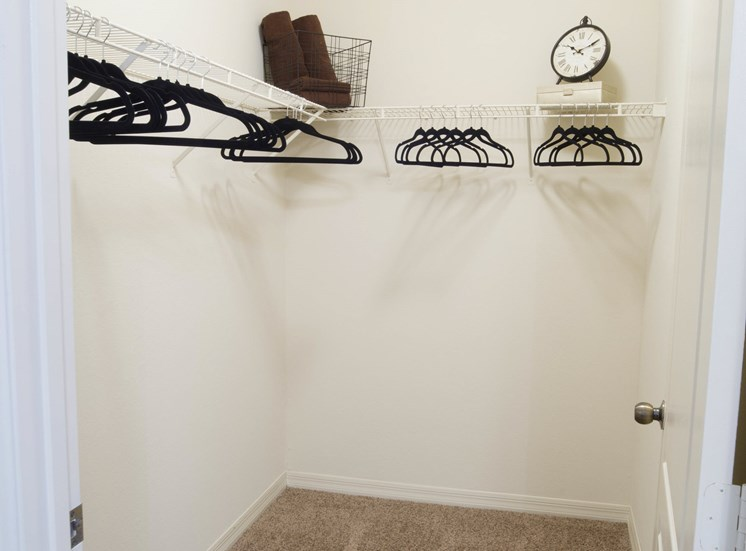 Walk-In Closet at Tuscany Bay Apartments, Florida