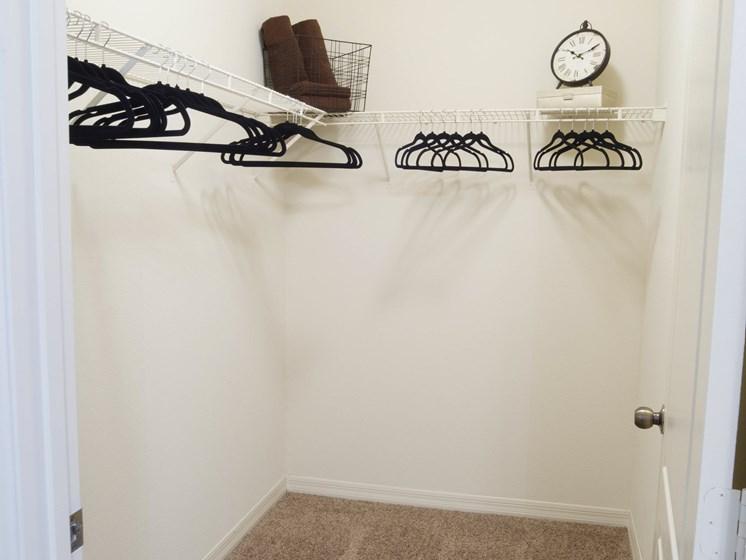 Walk-In Closet at Tuscany Bay Apartments, Florida
