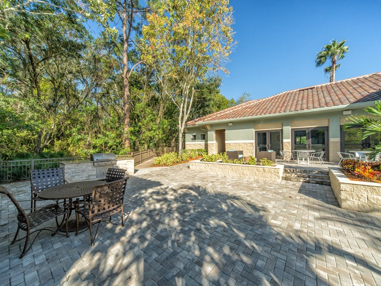Picnic and BBQ Area at The Preserve at Westchase, Florida, 33626