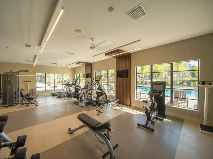24 hour Fitness Center at The Preserve at Westchase, Florida, 33626
