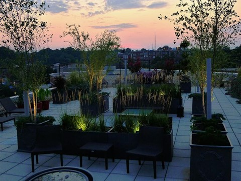 Rooftop Deck at Quebec House, Washington