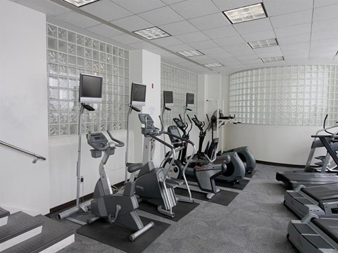 Two Fitness Centers, with Cardio and Strength Equipment at Quebec House, Washington, 20008