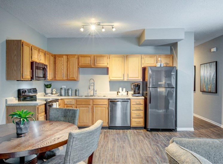 olathe rental upgraded kitchen townhomes and apartments