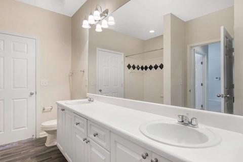 Creekside Crossing Bathroom and Vanity with Storage/Drawers