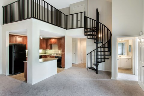 Creekside Crossing Spiral Staircase