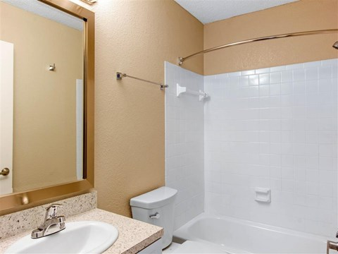 Bathroom | Landmark at Grayson Park Apartment Homes | Tampa, FL