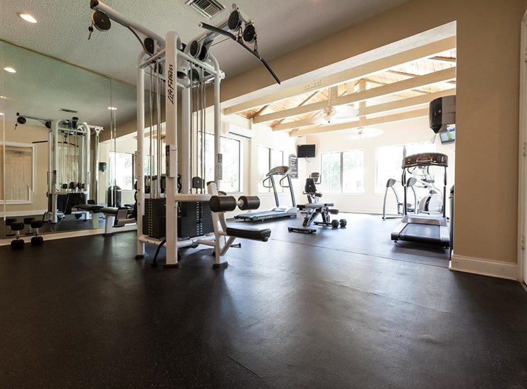 Fitness Center   Landmark at Grayson Park Apartment Homes   Tampa, FL