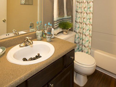 Bathroom Sink | Landmark at Lyncrest Reserve Apartment Homes Nashville, TN