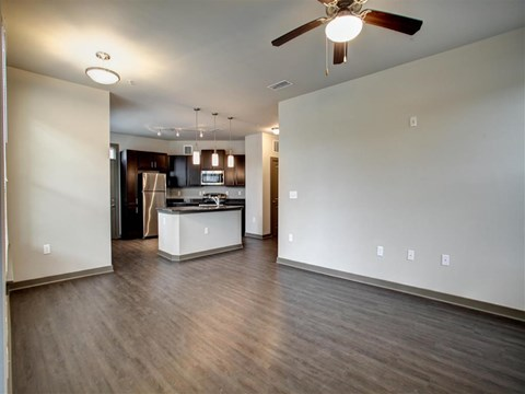 Park 9 Apartment Homes | Apartments for Rent in Woodstock, GA | Kitchen-Living