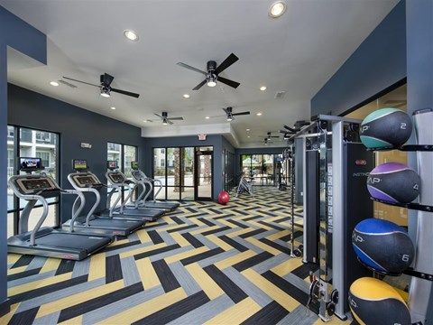 Park 9 Apartment Homes | Apartments for Rent in Woodstock, GA | Fitness Center