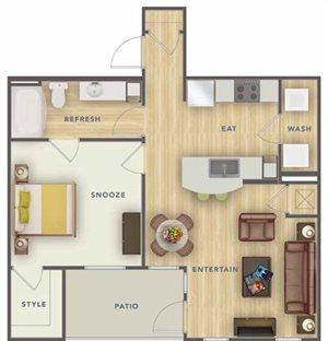 A1L floor plan.