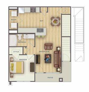 A2U floor plan.