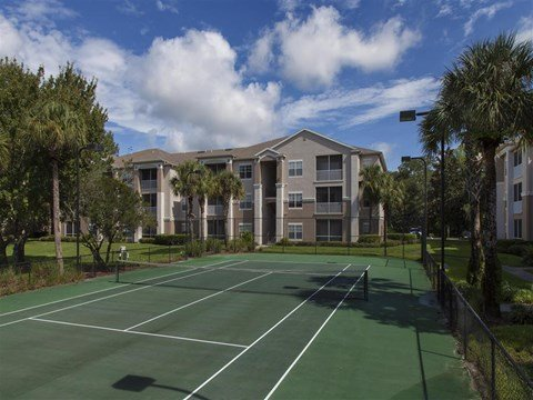 The Legends at Champions Gate | Apartments for Rent in Champions Gate, FL | Lighted Tennis Court