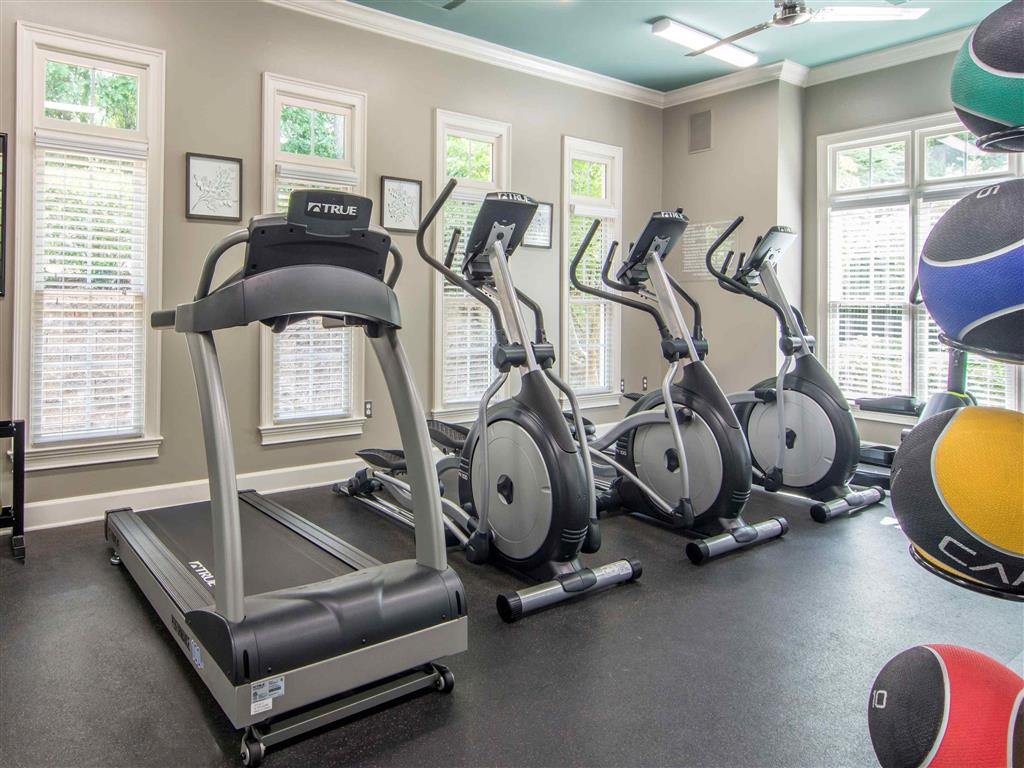 Fitness Center | The Retreat at Kedron Village Apartment Homes Peachtree City, GA