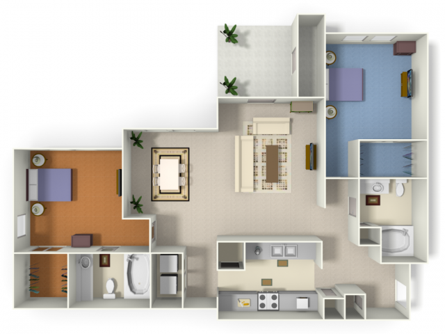 Floor Plans Of The Retreat At Kedron Village In Peachtree