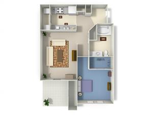 Chateau (A1) floor plan.