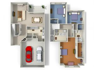 Legend (TH2) floor plan.