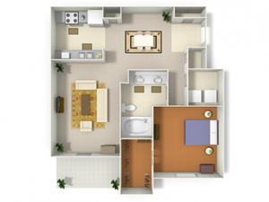 Sugarloaf (A2) floor plan.