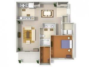 Sugarloaf (A3) floor plan.