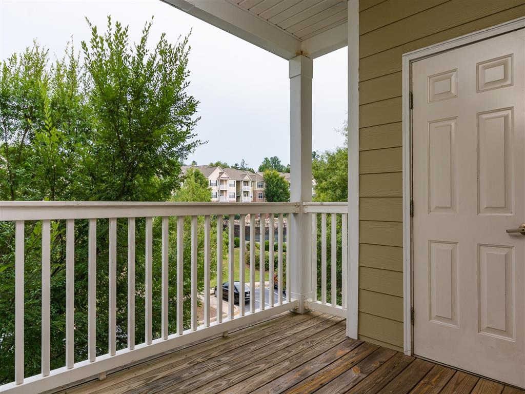 Balcony | Village at Almand Creek Apartments Conyers, GA