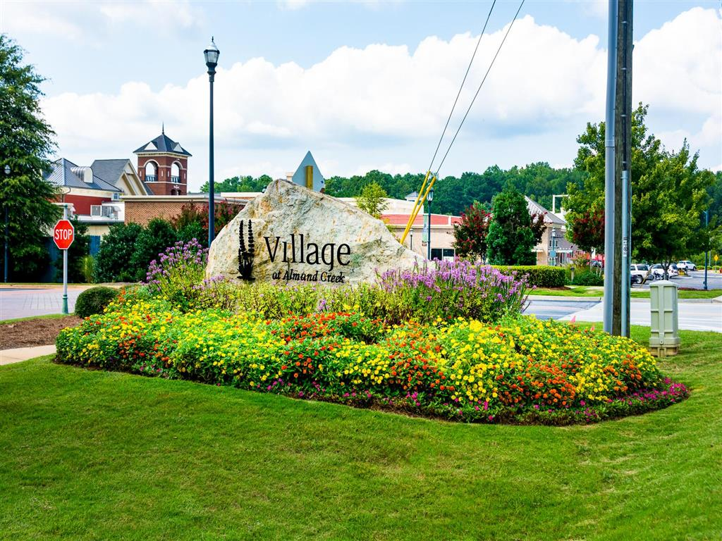 Entrance Sign | Village at Almand Creek Apartments Conyers, GA