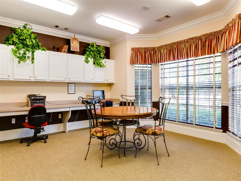 Business Center | Village at Almand Creek Apartments Conyers, GA