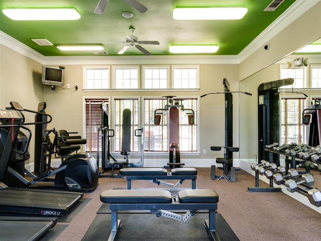 Fitness Center | Village at Almand Creek Apartments Conyers, GA